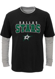 Dallas Stars Youth Playmaker T-Shirt - Black