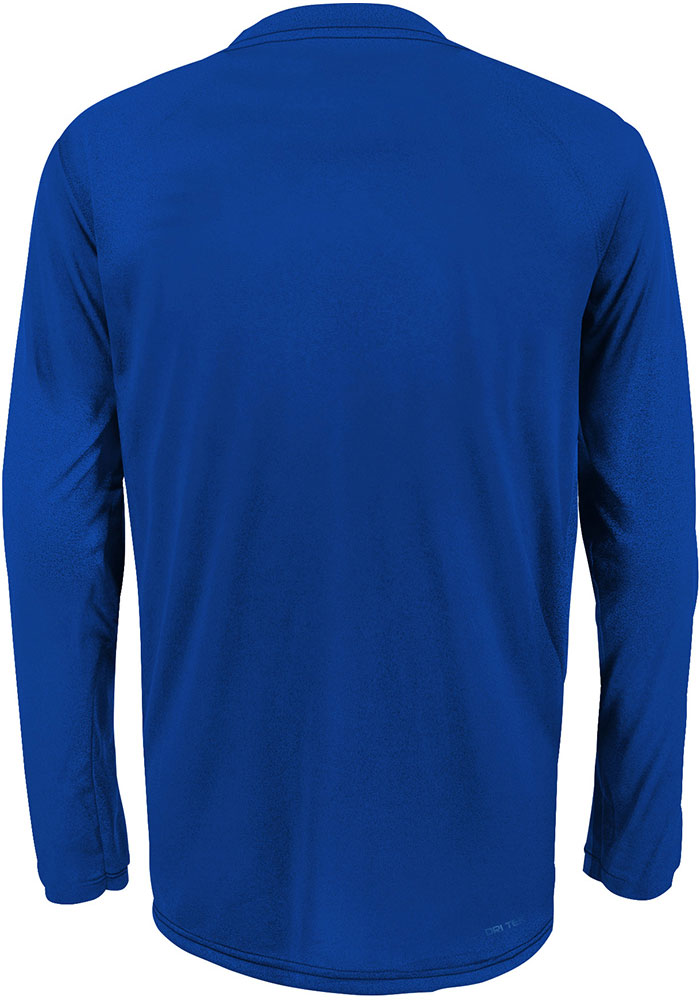 St Louis Blues Youth Blue Power Play Long Sleeve T-Shirt - Image 2