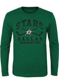 Dallas Stars Youth Fundamentals T-Shirt - Green