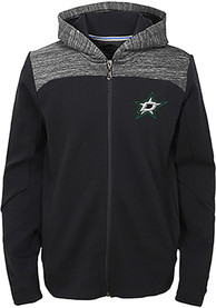 Dallas Stars Youth Centripedal Full Zip Jacket - Black