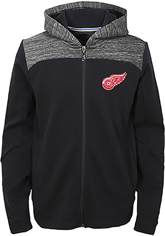 Detroit Red Wings Youth Centripedal Full Zip Jacket - Red