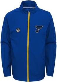 St Louis Blues Youth Prevail Light Weight Jacket - Blue