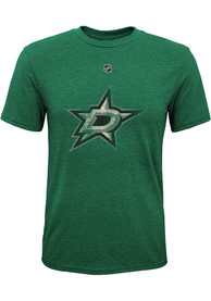 Dallas Stars Youth Pioneer Retro Fashion T-Shirt - Green