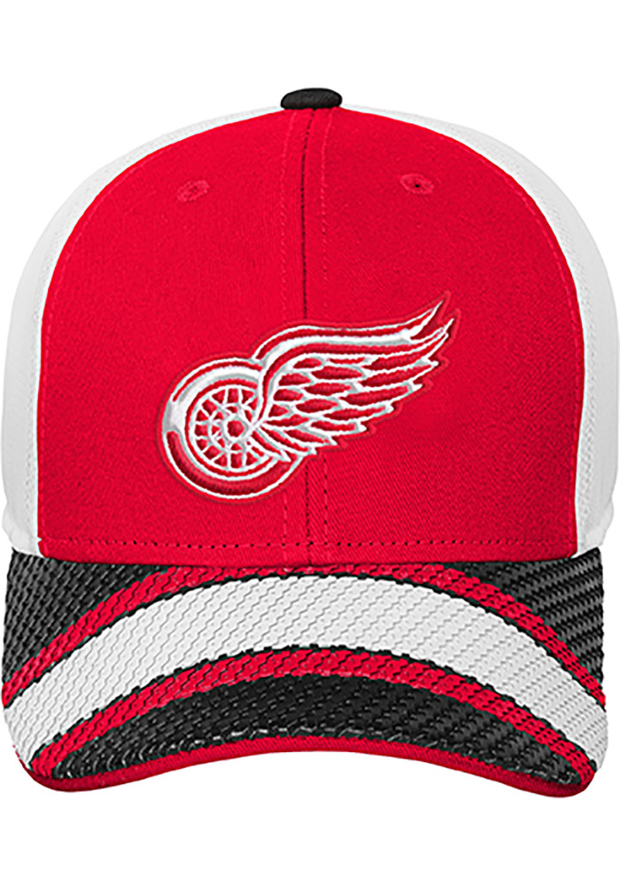 Detroit Red Wings Red Defender Youth Adjustable Hat - Image 1