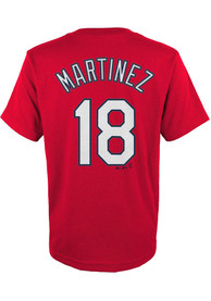 Carlos Martinez St Louis Cardinals Youth Name and Number T-Shirt - Red