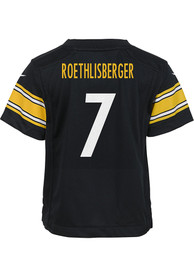 Ben Roethlisberger Pittsburgh Steelers Baby Nike Replica Game Football Jersey - Red