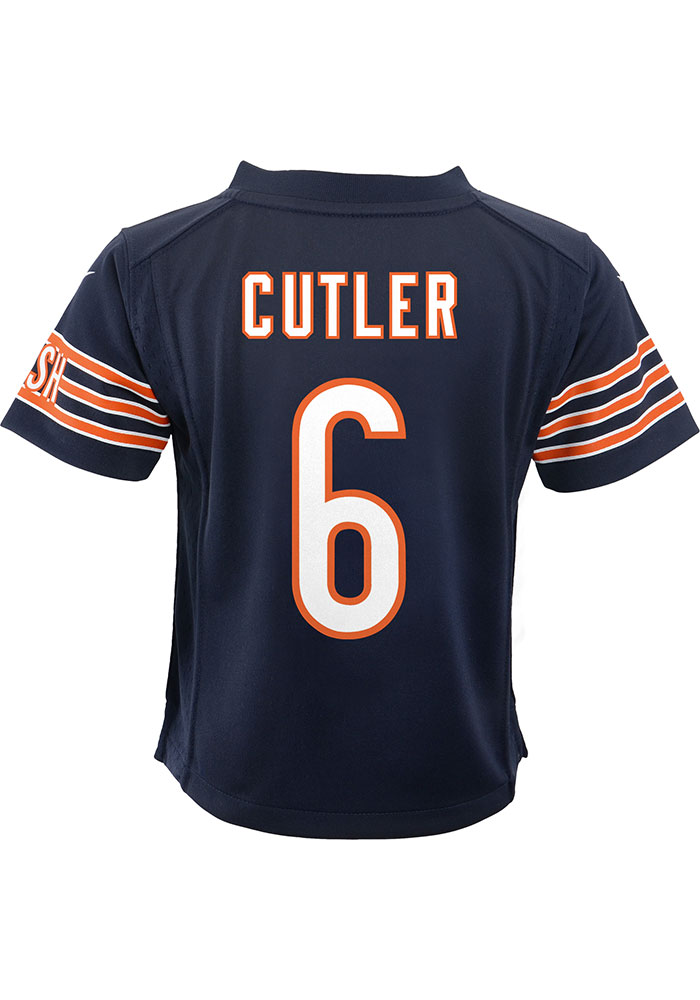 Jay Cutler Chicago Bears Baby Nike Replica Game Football Jersey - Navy Blue