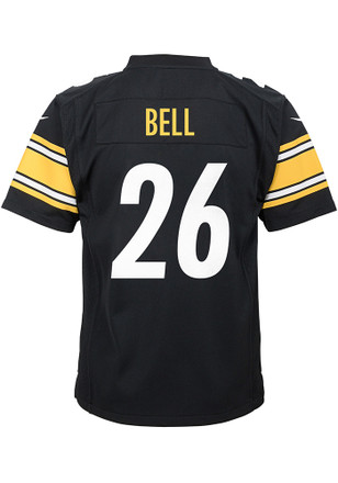 Le'Veon Bell Outer Stuff Pittsburgh Steelers Kids Black Youth Jersey