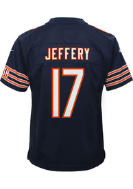 Alshon Jeffery Chicago Bears Youth Replica Game Football Jersey - Navy Blue
