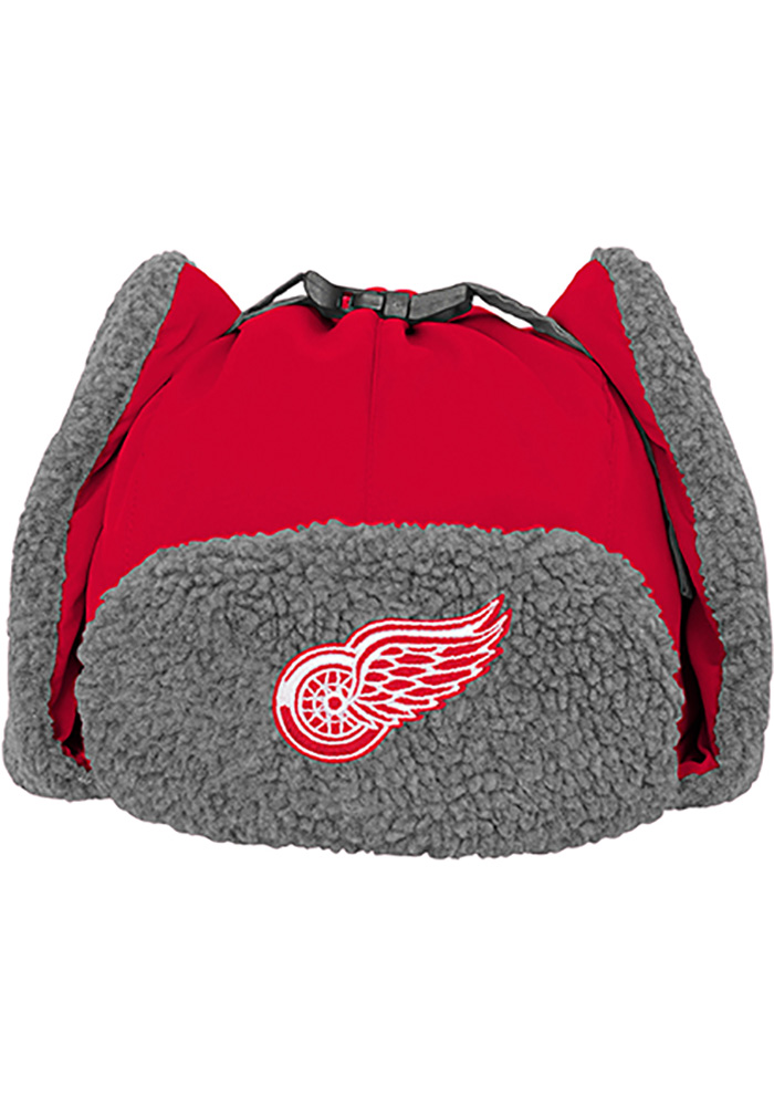 Detroit Red Wings Red Winter Youth Knit Hat - Image 2