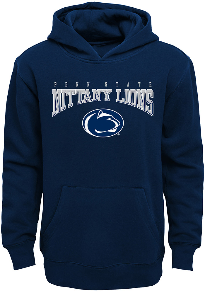 Penn State Nittany Lions Youth Fadeout Hooded Sweatshirt - Navy Blue