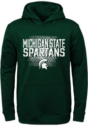 Michigan State Spartans Youth Attitude Hooded Sweatshirt - Green