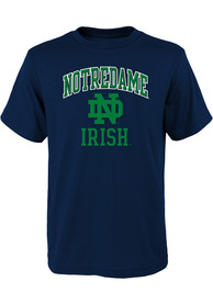 Notre Dame Fighting Irish Youth Ovation T-Shirt - Navy Blue