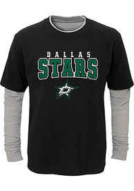Dallas Stars Boys Playmaker Fashion T-Shirt - Black