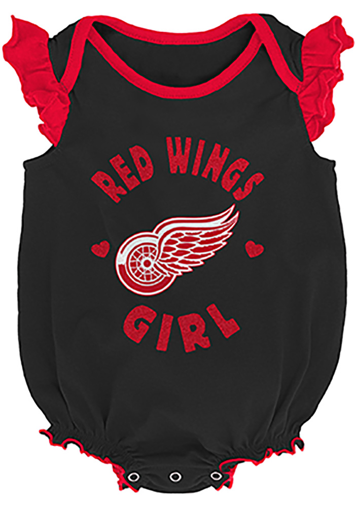 Detroit Red Wings Baby Red Hockey Kids Set One Piece - Image 2