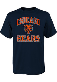 Chicago Bears Youth Ovation T-Shirt - Navy Blue