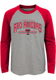 Texas Tech Red Raiders Youth Audible T-Shirt - Grey