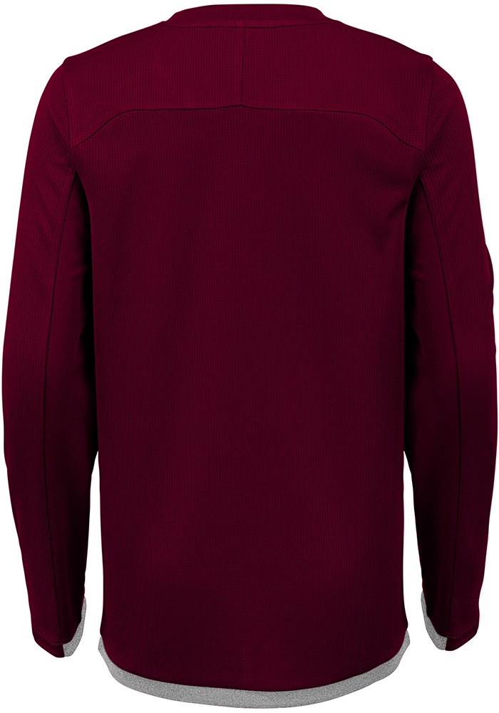 Texas A&M Aggies Youth Grey Mainframe Long Sleeve T-Shirt - Image 2