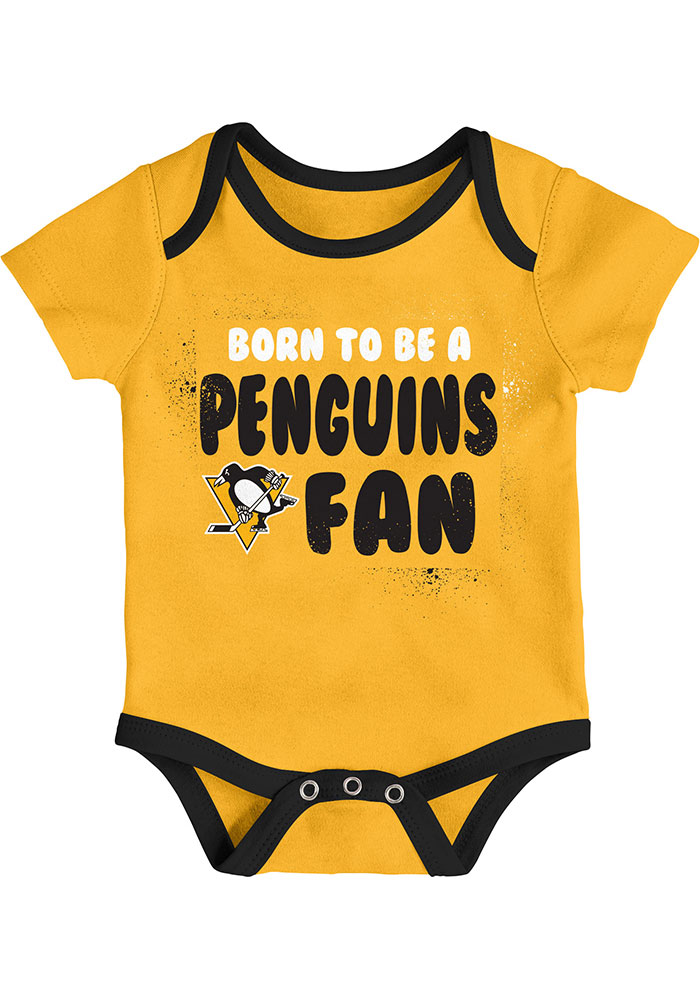 Pittsburgh Penguins Baby Black Even Strength One Piece - Image 4
