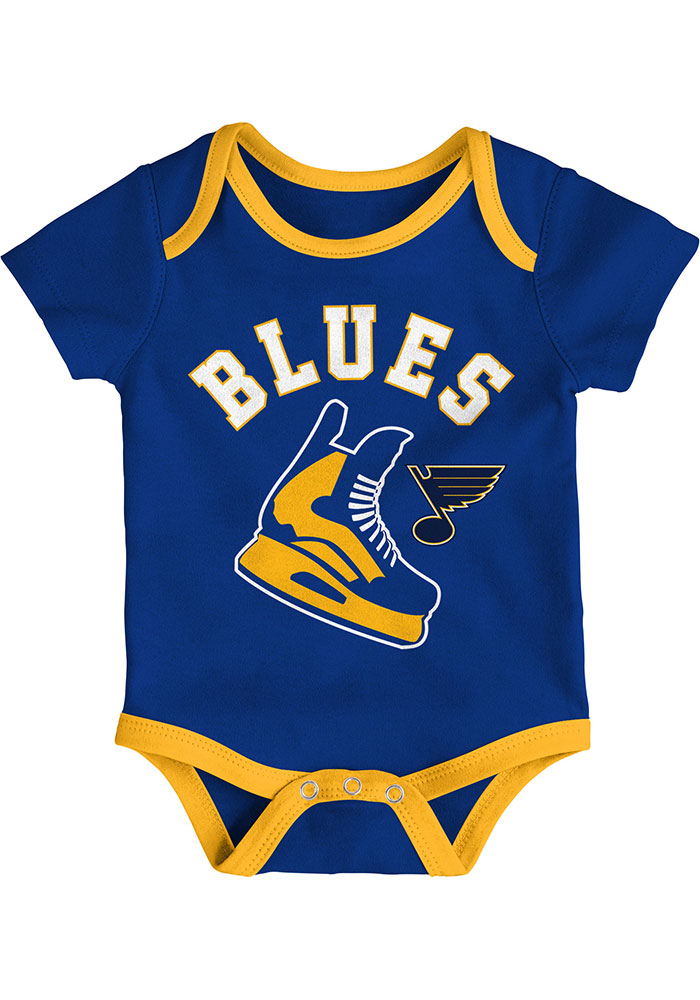 St Louis Blues Baby Blue Even Strength One Piece - Image 2