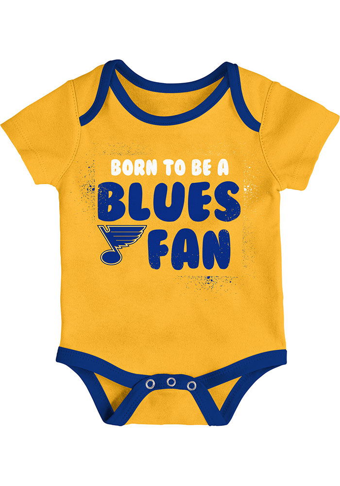 St Louis Blues Baby Blue Even Strength One Piece - Image 4