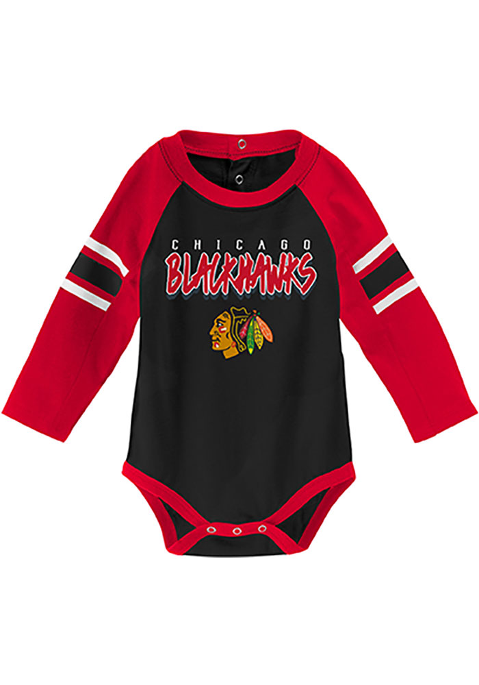 Chicago Blackhawks Baby Red Pepper Pot One Piece - Image 2