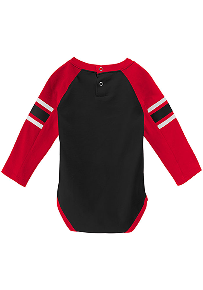 Chicago Blackhawks Baby Red Pepper Pot One Piece - Image 3