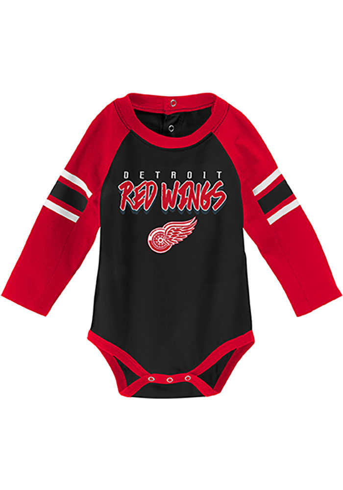 Detroit Red Wings Baby Red Pepper Pot One Piece - Image 2