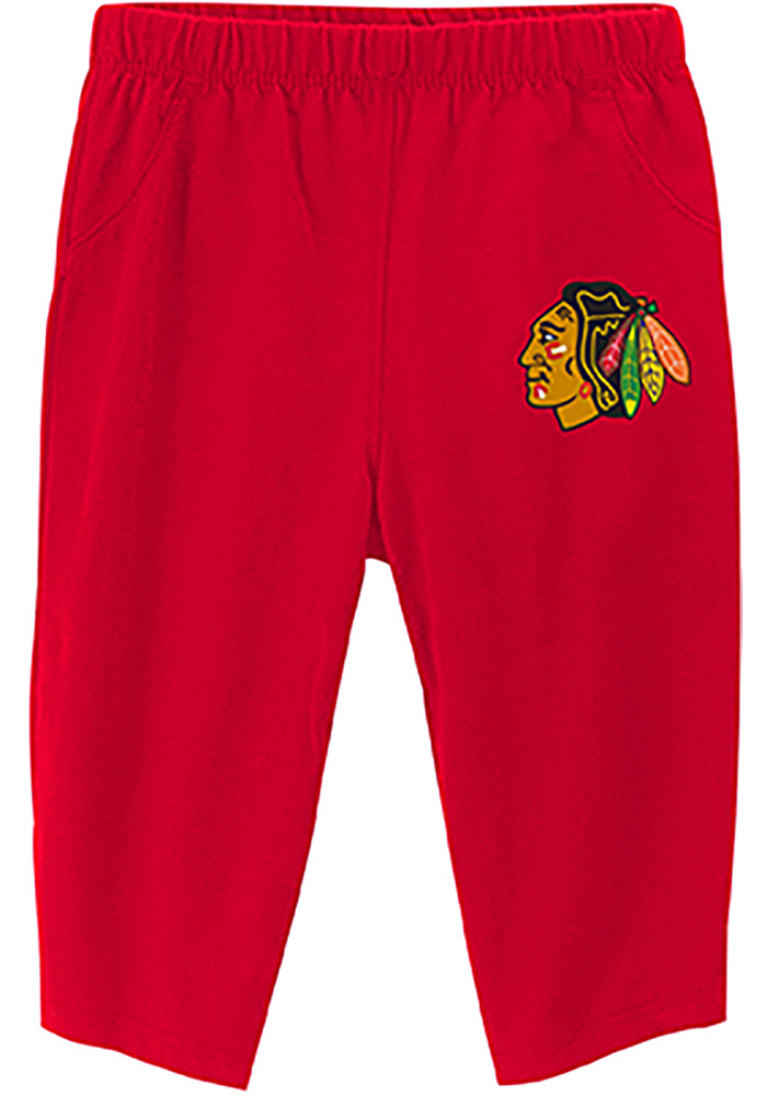 Chicago Blackhawks Baby Red Pepper Pot One Piece - Image 4