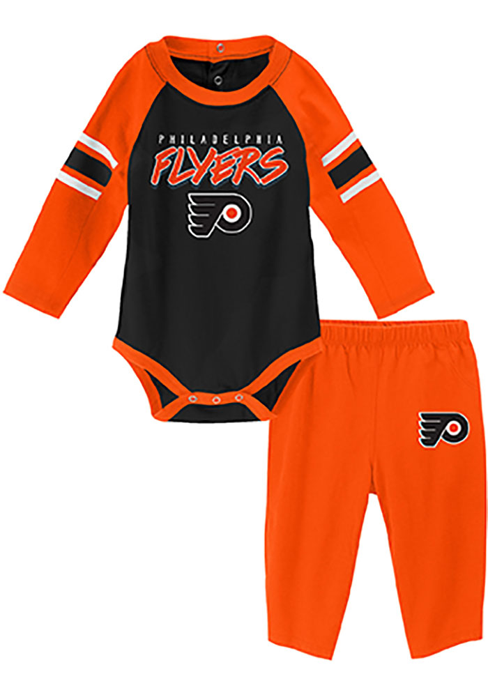 Outerstuff Toddler NHL Replica Jersey-Home Philadelphia Flyers Infant One Size Orange 12-24M
