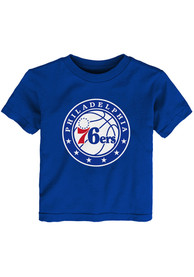 Philadelphia 76ers Infant Logo T-Shirt - Blue