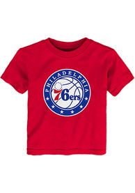 Philadelphia 76ers Infant Logo T-Shirt - Red