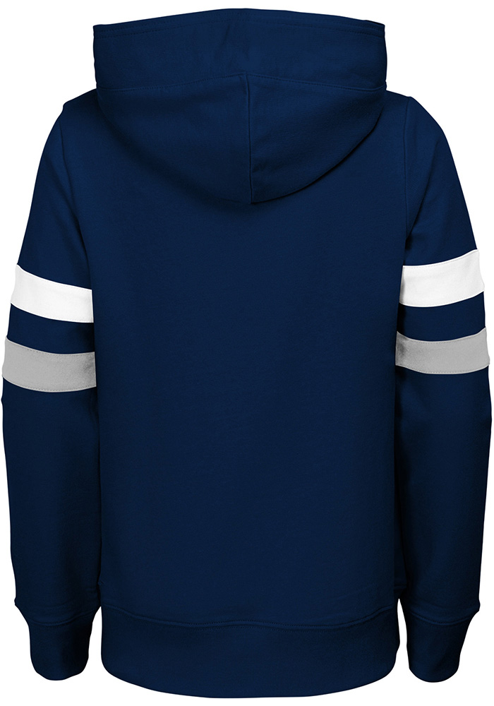 Penn State Nittany Lions Girls Navy Blue Claim to Fame Long Sleeve Hooded Sweatshirt - Image 2