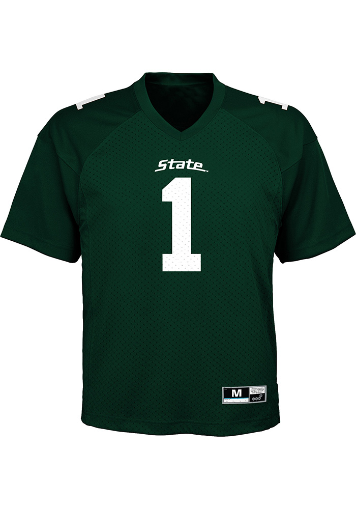 Michigan State Spartans Baby Green Gen 2 Jersey Football Jersey - Image 1 8cd0376e6