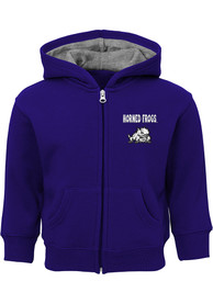 TCU Horned Frogs Baby Red Zone Full Zip Sweatshirt - Purple