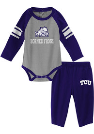 TCU Horned Frogs Infant Future Starter Top and Bottom - Purple
