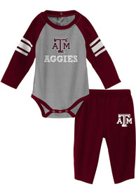 Texas A&M Aggies Infant Future Starter Top and Bottom - Maroon