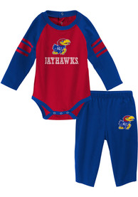 Kansas Jayhawks Infant Future Starter Top and Bottom - Blue