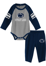 Penn State Nittany Lions Infant Future Starter Top and Bottom - Navy Blue