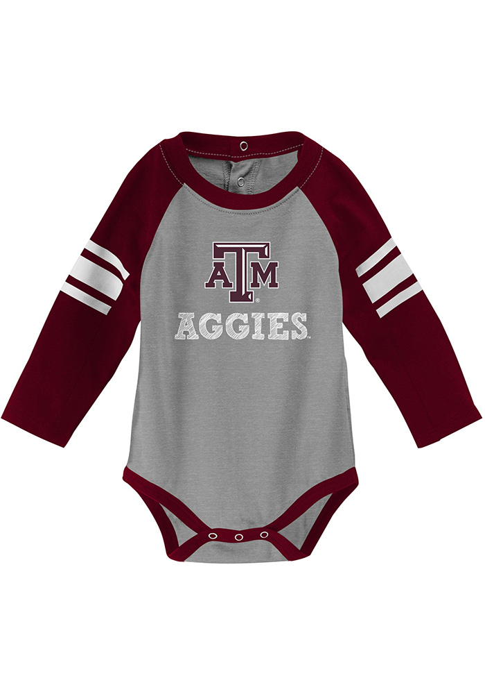Texas A&M Aggies Infant Maroon Future Starter Set Top and Bottom - Image 2