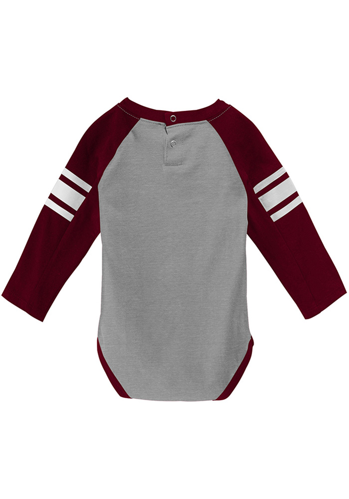 Texas A&M Aggies Infant Maroon Future Starter Set Top and Bottom - Image 3