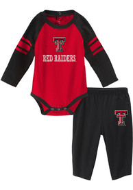 Texas Tech Red Raiders Infant Future Starter Top and Bottom - Red
