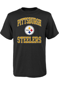 Pittsburgh Steelers Youth Ovation T-Shirt - Black