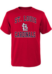 St Louis Cardinals Youth Ovation T-Shirt - Red