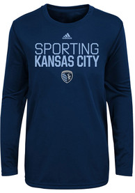 Sporting Kansas City Toddler Locker Stacked T-Shirt - Navy Blue