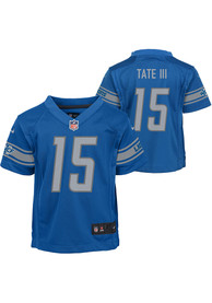 Golden Tate Detroit Lions Youth Nike Home Football Jersey - Blue