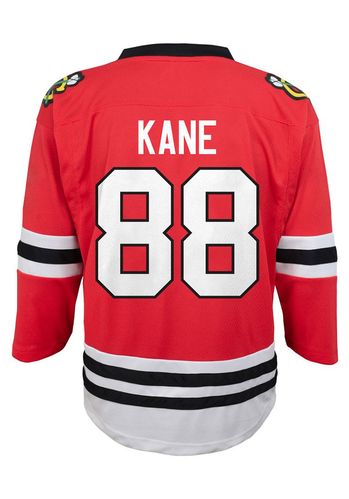 Patrick Kane Outer Stuff Chicago Blackhawks Youth Red Replica Hockey Jersey - Image 1