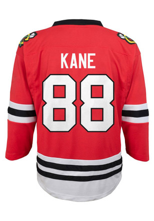 Patrick Kane Outer Stuff Chicago Blackhawks Youth Red Replica Jersey 5f74eb864