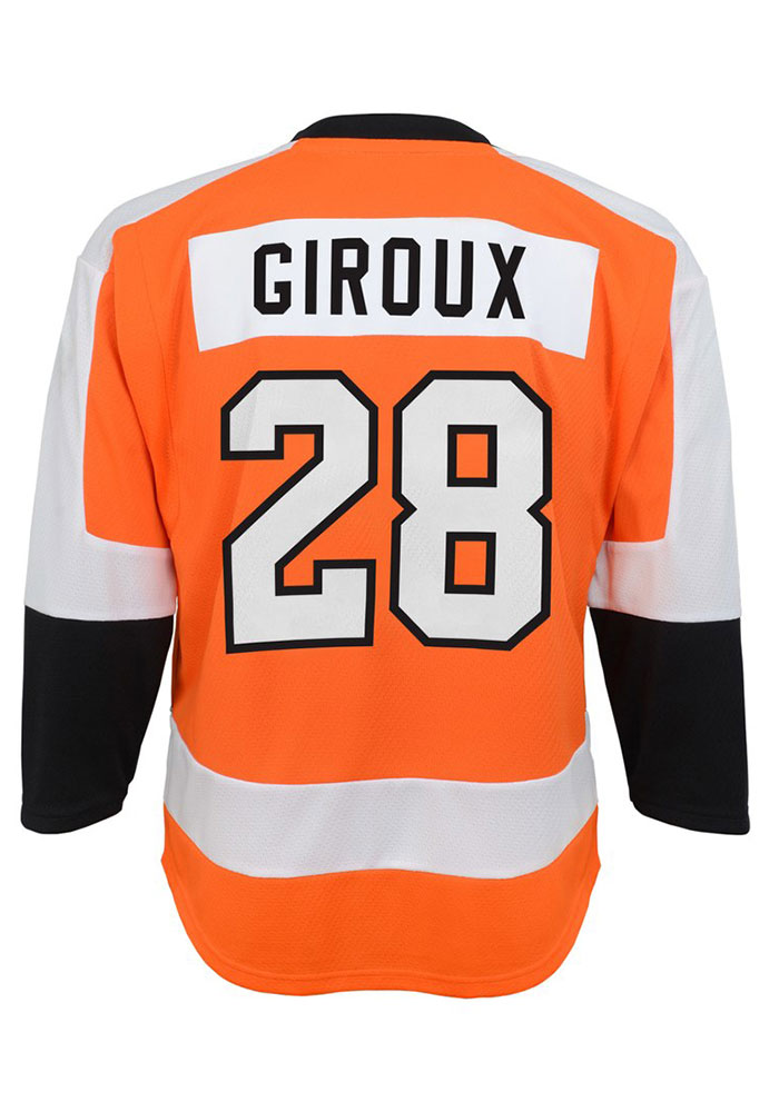 Claude Giroux Outer Stuff Philadelphia Flyers Youth Orange Replica Jersey 4b04eed8d