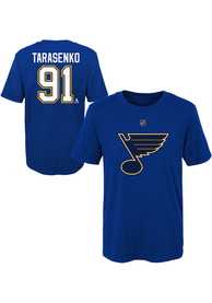 Vladimir Tarasenko St Louis Blues Boys Outer Stuff Player T-Shirt - Blue